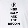 Keep Calm Bitcoin Long Sleeve T-shirt