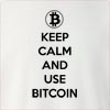 Keep Calm Bitcoin Crew Neck Sweatshirt