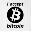 I Accept Bitcoin T-shirt