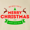 Merry Christmas and Happy New Year Crew Neck Sweatshirt