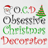OCD Obsessive Christmas Decorator Crew Neck Sweatshirt