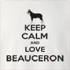 Keep Calm and Love a Beauceron Crew Neck Sweatshirt