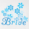 Winter Bride Wedding T Shirt