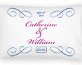 Wedding Personalized Pillowcase Set 2 pcs