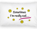 Always Happy Personalized Pillowcase Set 2 pcs