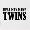 Real Man Make Twins Hooded Sweatshirt