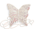 White Iridescent Silk Butterflies Wedding 2000