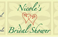 Personalized Labels - Bridal Shower Bottle Water
