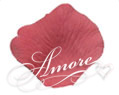 1000 Wedding Silk Rose Petal-Smokey Pink