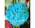 8 inches Silk Pomander Kissing Ball Tiffany Blue