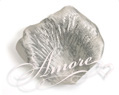 Silver Silk Rose Petals Wedding 1000