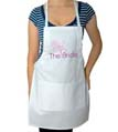 The Bride Wedding Apron