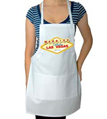 Las Vegas Bride Wedding Apron