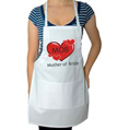 Mother of Bride Wedding Apron