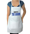 Property of the Groom Wedding Apron