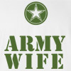 Army Wife Wedding T Shirt