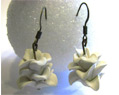 White Handmade Polymer Clay Bridesmaid Earrings