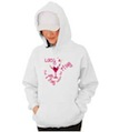 Final Fling Bride Wedding Hooded Sweatshirt