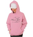 Flower Girl Hooded Sweatshirt