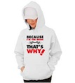 Because I'm the Bride Wedding Hooded Sweatshirt