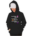 If You Like Me Tell Me Wedding Hooded Sweatshirt