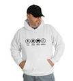 Bad Good Great Perfect Mercedes Hooded Sweatshirt