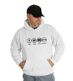 Bad Good Great Perfect Jeep Hooded Sweatshirt