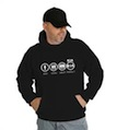 Bad Good Great Perfect Kia Hooded Sweatshirt