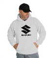Suzuki Racing Motorcycle GSXR 600 Hooded Sweatshirt