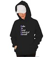 BITCH Babe In Total Control of Herself Hooded Sweatshirt