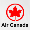 Air Canada Canadian Airlines Vintage Logo T-Shirt New Boeing Airbus Tee