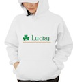 Saint Patrick's Day Lucky Hooded Sweatshirt