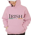 Saint Patrick's Day Irish For a Day Hooded Sweatshirt