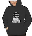 Keep Calm It's Monday Hooded Sweatshirt