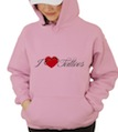 I Heart Love Tattoos Hooded Sweatshirt