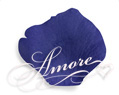 Royal Blue Silk Rose Petals Wedding 1000