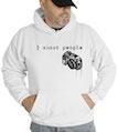 I Shoot People Photographer Hooded Sweatshirt