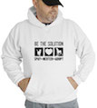 Be The Solution Spay + Neuter + Adopt Hooded Sweatshirt