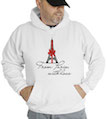 From Paris, With Love Hooded Sweatshirt