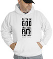 Faith In God Includes Faith In His Timing Hooded Sweatshirt