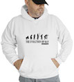 The Evolution Of Man Photography Hooded Sweatshirt