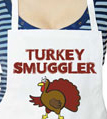 Turkey Smuggler Thanksgiving Apron