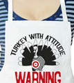 Turkey With Attitude Apron