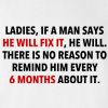 Ladies He Will Fix It Funny Professional T-shirt