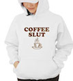 Coffee Slut Hooded Sweatshirt