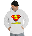 SuperDad Superman Hooded Sweatshirt