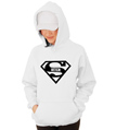 Super Bitch Superman Hooded Sweatshirt