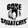 GONE SQUATCHIN FINDING SASQUATCH BIG FOOT BIGFOOT RESEARCH HUNTER T-SHIRT TEE