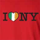 I Love New York St. Patrick's Day Long Sleeve T-Shirt
