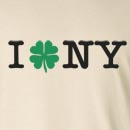 I Shamrock NY St. Patrick's Day Long Sleeve T-Shirt